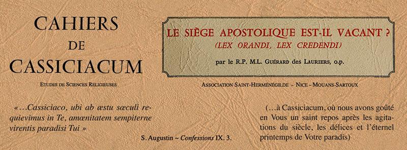 Image result for Cahiers de Cassiciacum