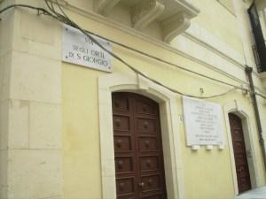 Siracusa - Via degli Orti di San Giorgio 11 - Casa della Lacrimazione della Madonna a Siracusa