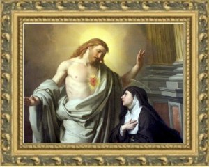 Le Sacré-Cœur a demandé à sainte Marguerite-Marie que le roi lui consacre la France