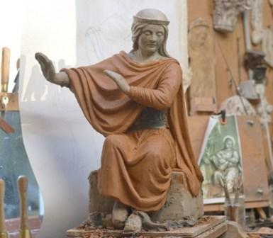 Projet de statue de saint Herménégilde