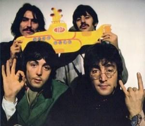 Beatles 666 salut cornu