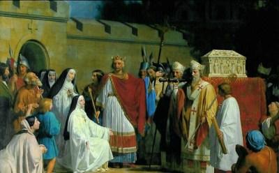 La Sainte Tunique arrive à Argenteuil
