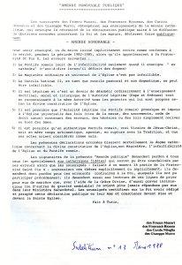 Sodalitium n° 13, mars 1988 - « Amende Honorable Publique »