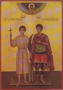 saint Donatien et saint Rogatien