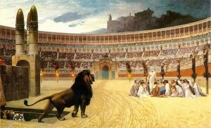 Martyrs des catéchumènes au Colisée
