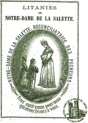 Les Litanies de Notre-Dame de La Salette