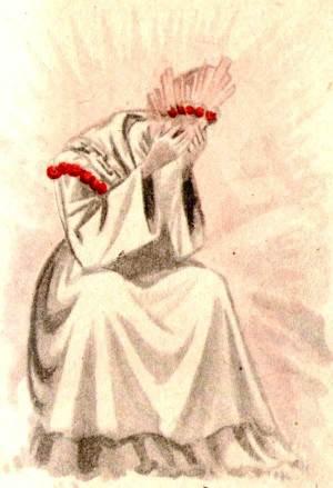 ND de La Salette pleurant