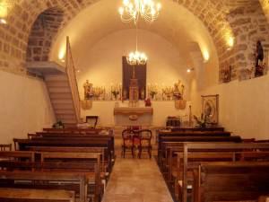 """la crypte rénovée du prieuré """"saint Pierre et saint Paul"""" de Mouthier-Haute-Pierre"""