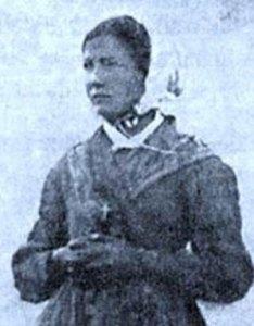 Mélanie Calvat, la voyante de La Salette.
