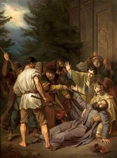 Simmler, Martyre de Josaphat Kuncevyc
