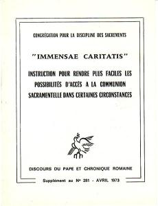 Immensae Caritatis