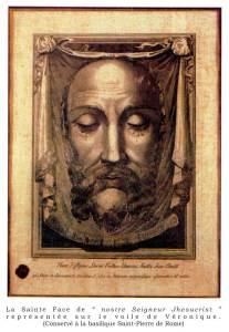 Image de la Ste Face de NS Jésus-Christ
