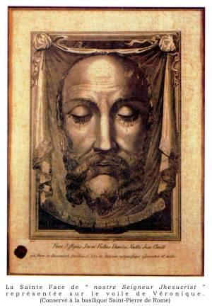 La Sainte Face de Notre-Seigneur Jésus-Christ