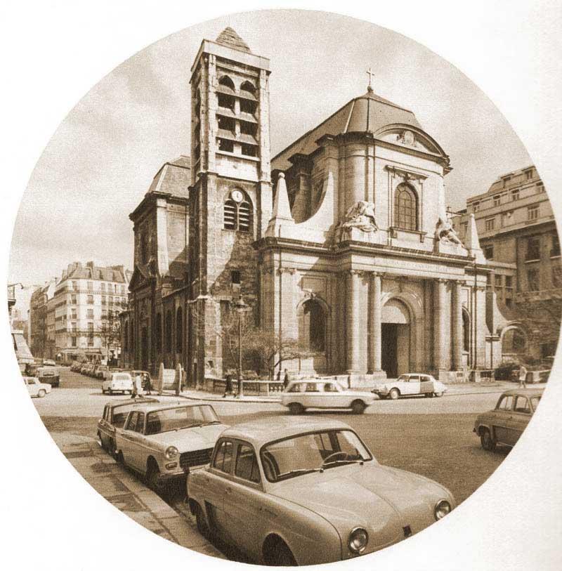 Église Saint-Nicolas-du-Chardonnet
