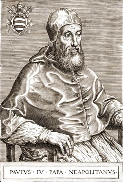 Sa Sainteté le pape Paul IV