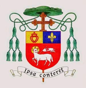Blason Épiscopal de Mgr JM Faure