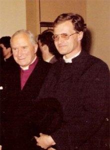 Abbbé JM Faure et Mgr Lefebvre