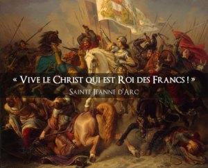 Christ Roi des Francs