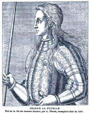 Jeanne d'Arc - La-Pucelle, 1584