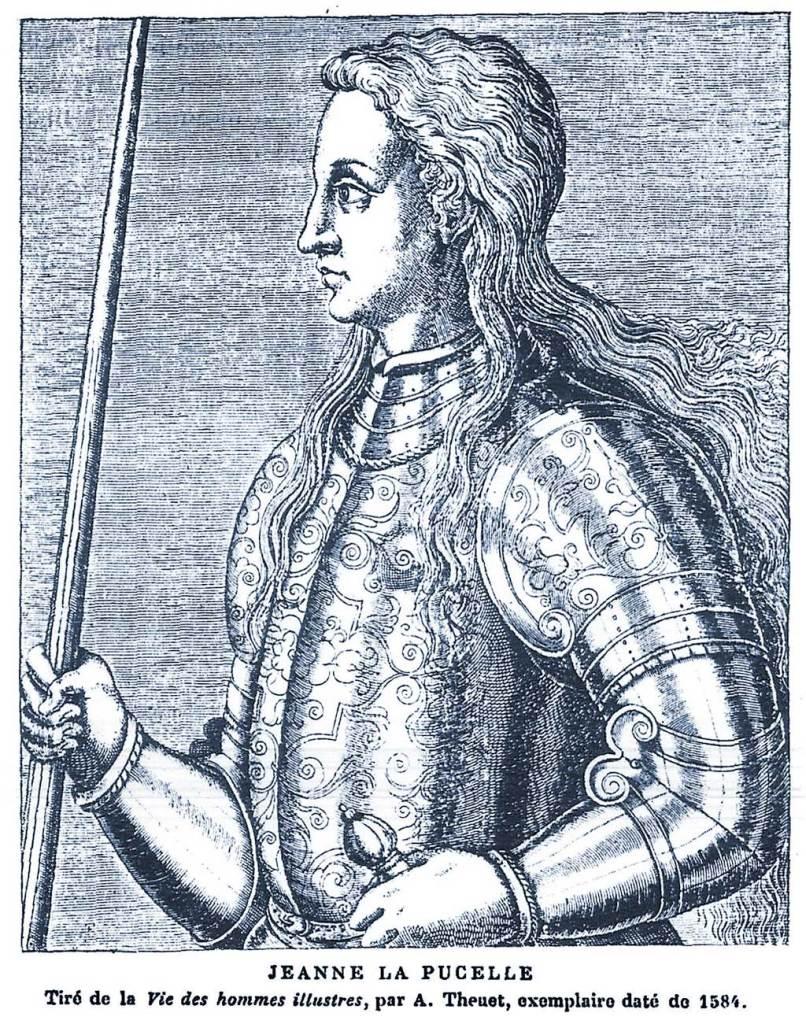 1584, Jeanne d'Arc, La Pucelle