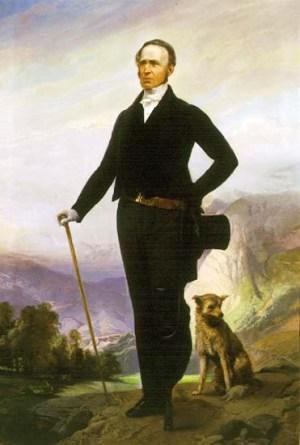 Charles Beckwith, Lt. Colonel Anglais, Bienfaiteur des Vaudois.