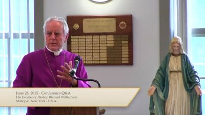 Mgr Williamson en conférence à Mahopcac, New York