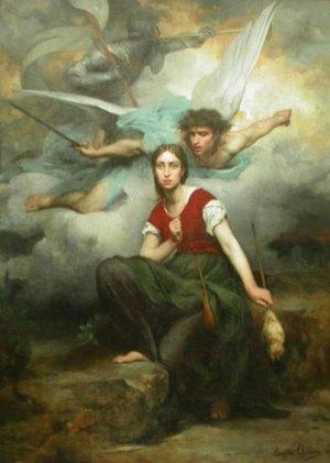 Vision de Saint Michel Archange par Sainte Jeanne d'Arc