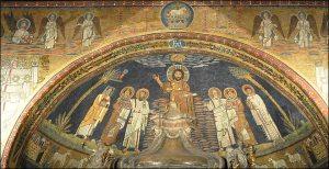 L'arc triomphal de la Basilique Sainte-Marie-Majeure