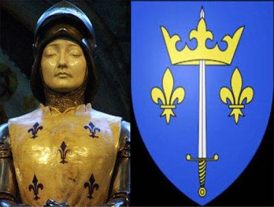 Jeanne d'Arc et son Blason