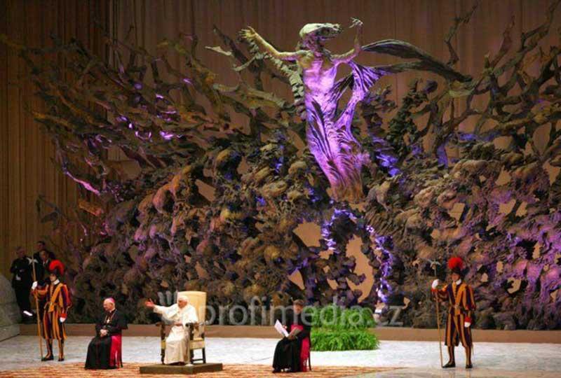 Aula Pablo VI (antes Nervi Hall) en el Vaticano
