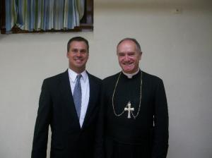 Salza avec Mgr Fellay en 2011