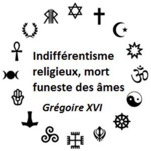 Indifférentisme religieux, mort funeste des âmes