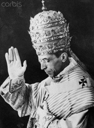 SS le Pape Pie xii