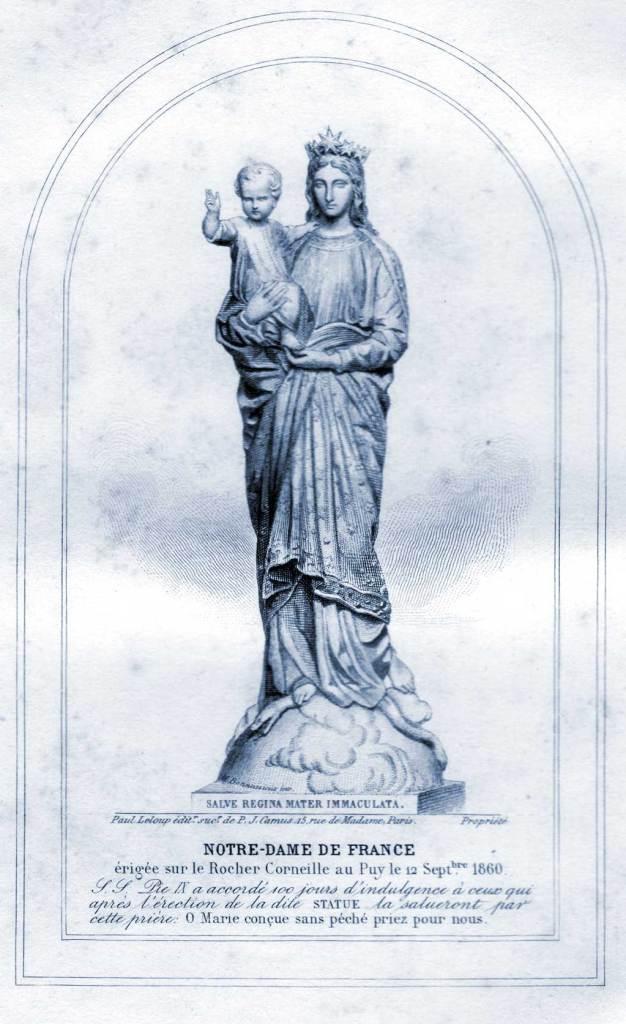 Notre-Dame de France, Priez pour nous.