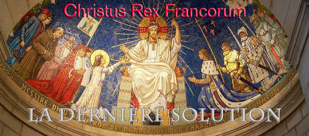 Le Christ Roi de France - Basilique de Domremy