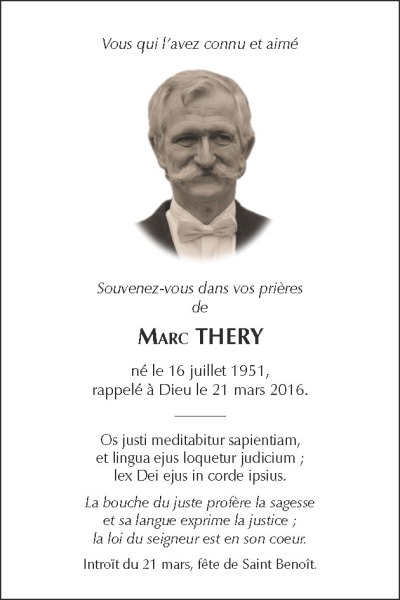 Memento Marc Thery
