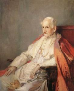 Pape Léon xiii (1810-1903)