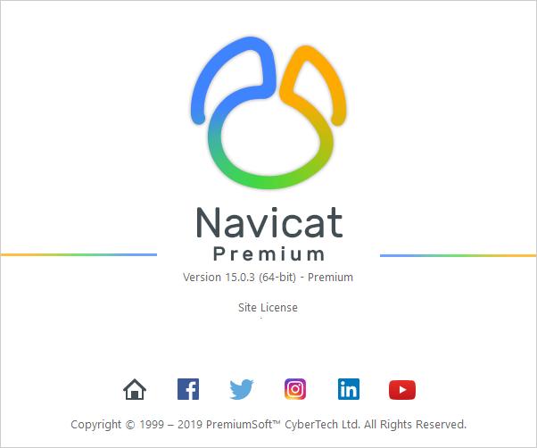 Navicat Premium 15.0.3 (64-bit)