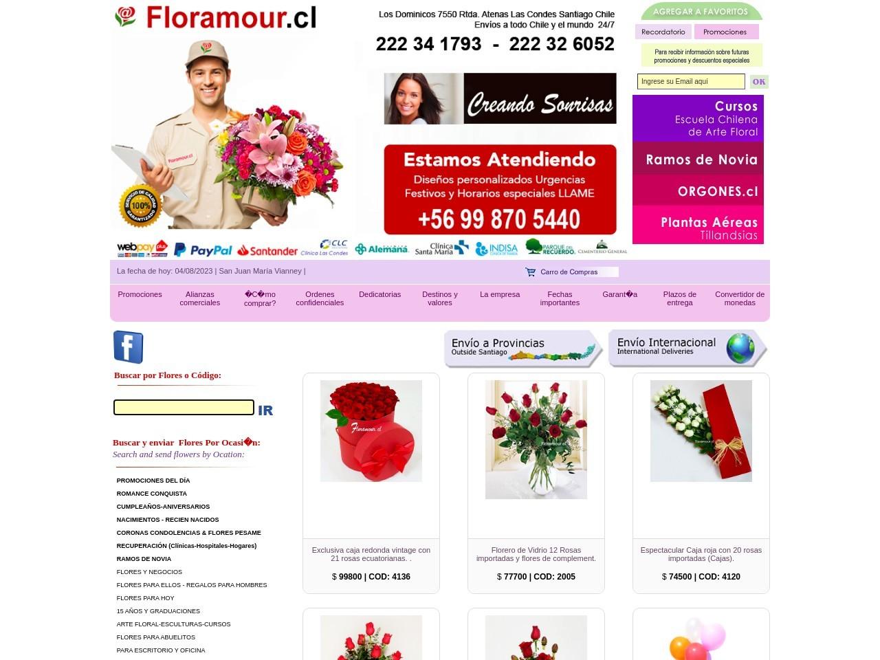 800 Flores