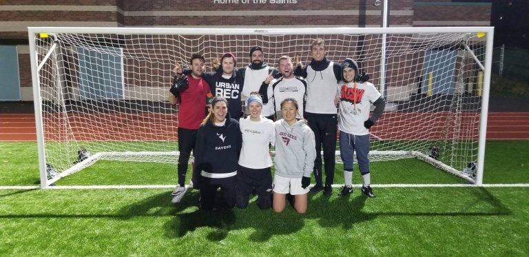 Ottawa Footy Sevens 7-a-side soccer league team.