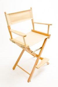 """24"""" Contemporary Series Chair - Natural with Khaki Canvas"""
