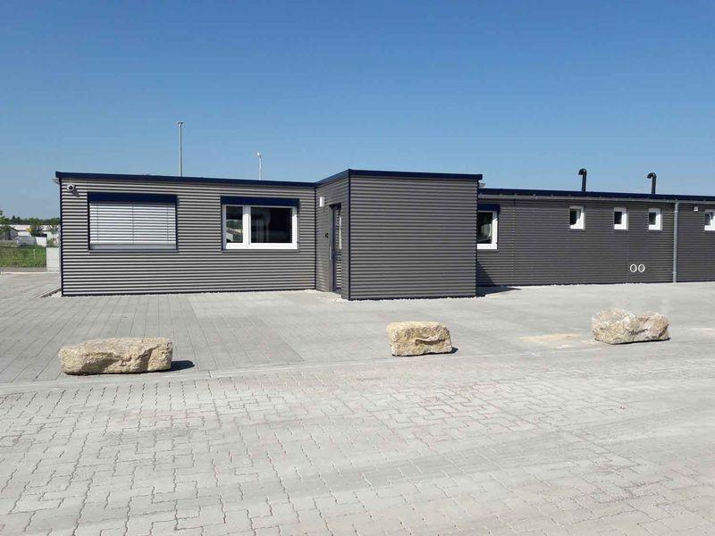 , Heinkel Modulbau realisiert ein Bürogebäude in Modulbauweise für die Stadler Spedition, Heinkel Modulbau