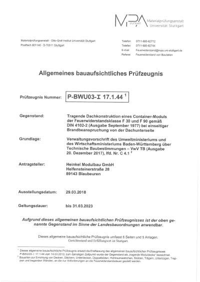 , Heinkel Modulbau