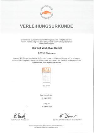 , Qualität, Heinkel Modulbau