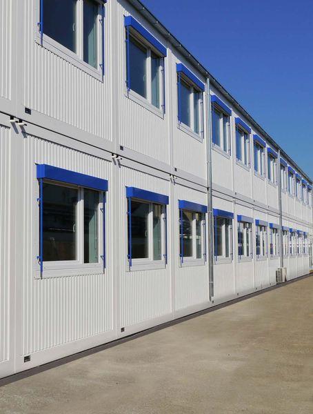 , Bosch nutzt in Waiblingen ein Mietgebäude von Heinkel Modulbau, Blaubeuren, Heinkel Modulbau