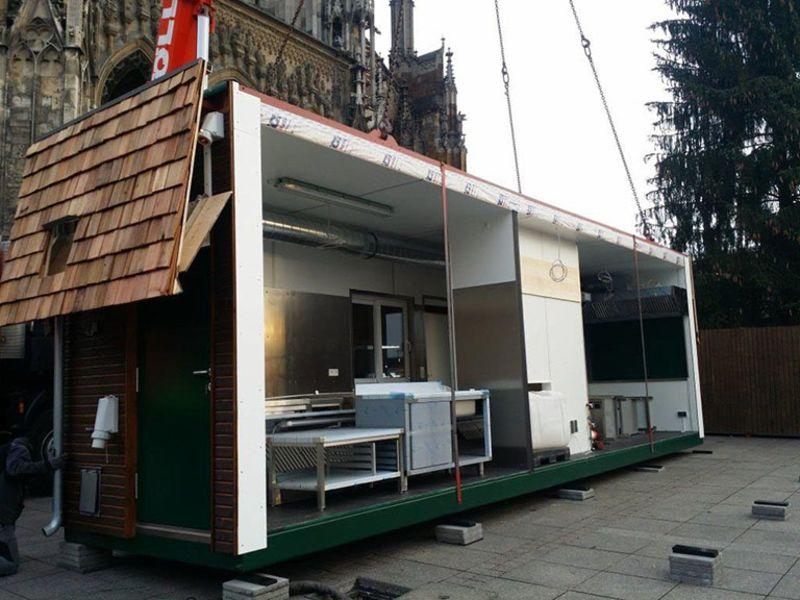 , Weihnachtsmarkt, Ulm, Heinkel Modulbau