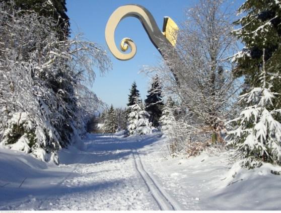 Winter im Schmallenberger Sauerland am Rothaarsteig