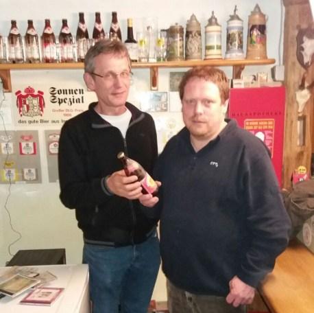 Simon Teufel und Andreas Hospach