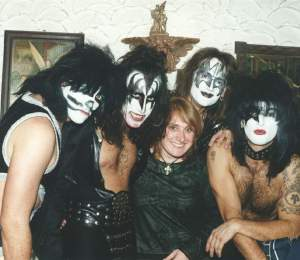 ...with the best european KISS cover - the KISS FOREVER BAND from Hungary. Great guys! Great show! Great musicians! If you miss the original live on stage, this is the best comfort you can get!! Watch out if they are coming to your town..;-))