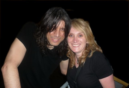 ...meeting Nick after the show 05/09/2009 in Speyer. Always kind, lovely, charming:-)